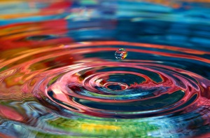a single drop will create vast ripples...