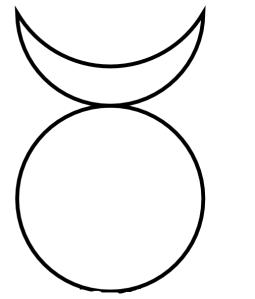 common symbol for the Horned God