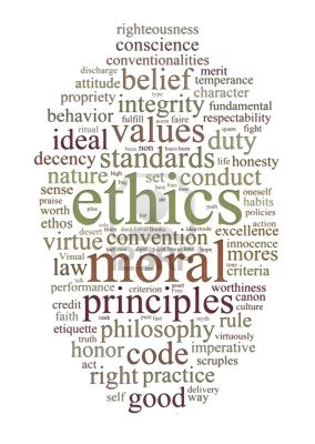 Morals ethics values and beliefs