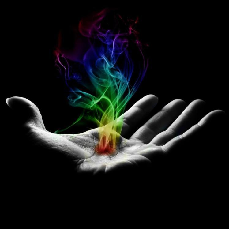magic in hand