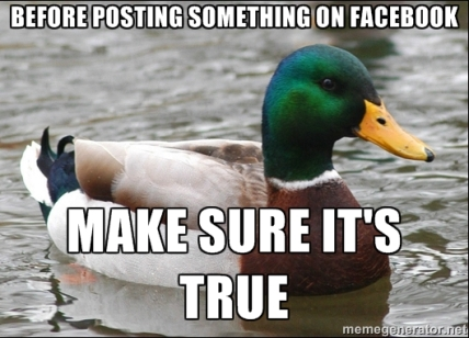 before you post on facebook
