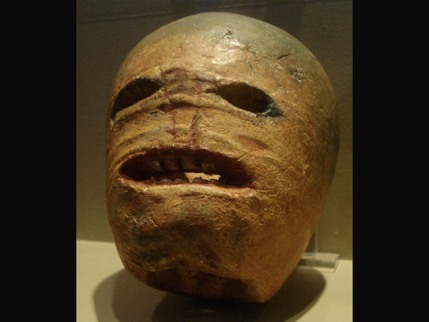 A traditional Irish Jack-O-Lantern in the Museum of Country Life, Ireland