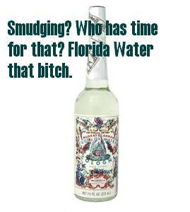 florida water not smudging