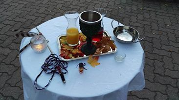 Handfasting Altar