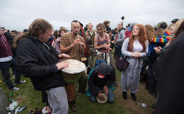 Summer Stonehenge festival